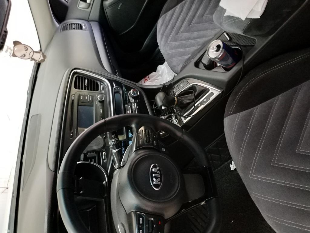 Установка автомагнитолы в стиле Teslaфирмы дск, DSK Для автомобиля Kia Optima 1