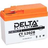 Аккумулятор стартерный Delta CT 12026 (12V / 2.5Ah)