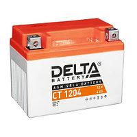Аккумулятор стартерный Delta CT 1204 (12V / 4Ah)