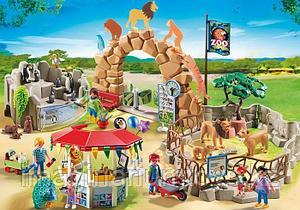 Большой конструктор для детей Playmobil «Зоопарк»