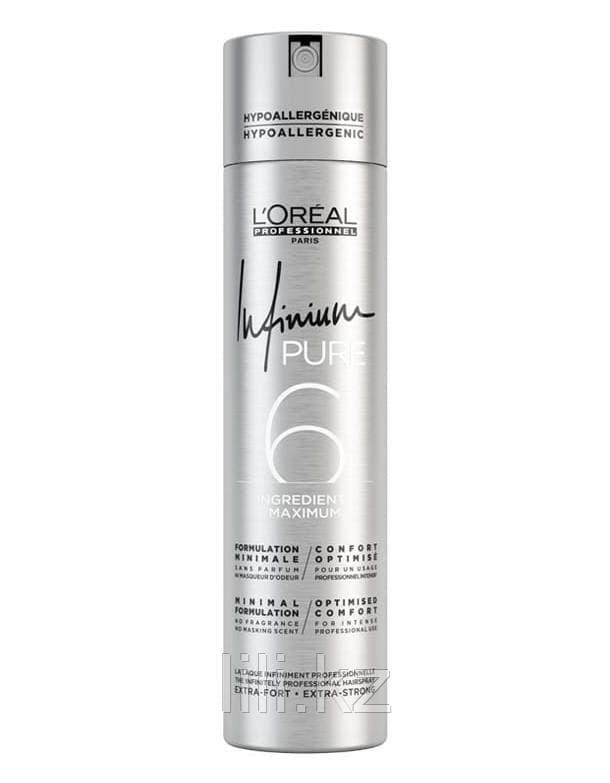 Лак для волос экстра-сильной фиксации L'Oreal Professionnel Infinium pure Extra strong 300 мл.