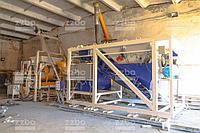 Бетонный завод МОБИЛ-20 в паре с вибропрессом «МАКСИМАЛ»