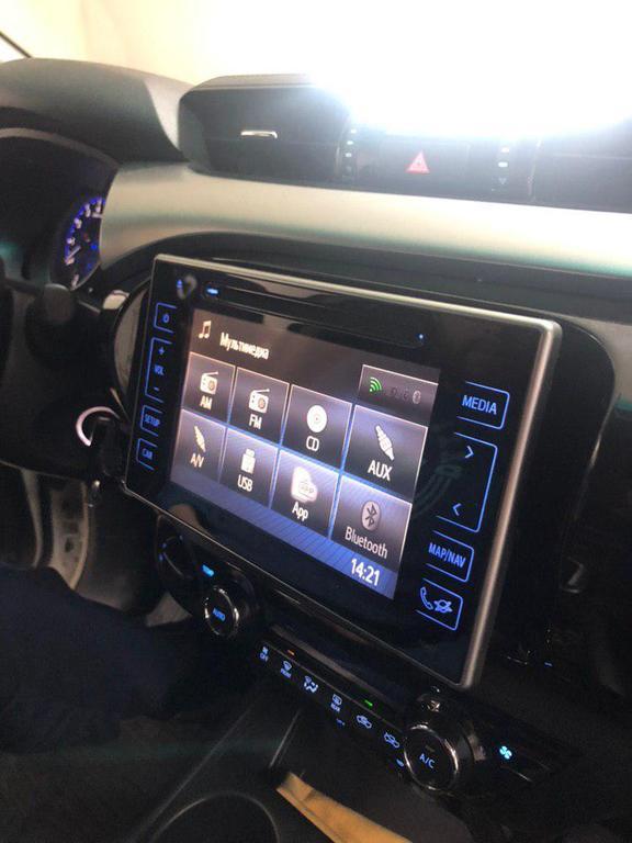Отображение режима Android в штатной автомагнитоле Toyota Hilux
