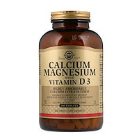 Solgar, Кальций и магний с витамином D3, 300 таблеток