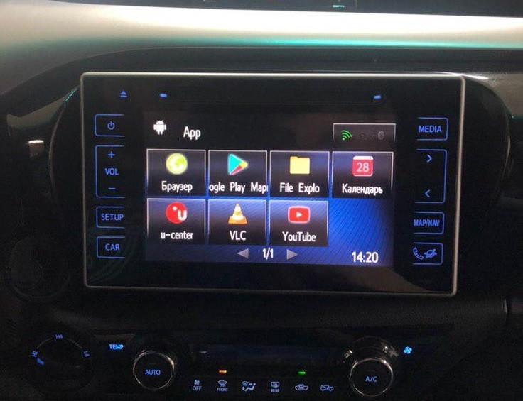 Toyota Hilux навигационный блок Android 6.0 N3325