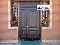 Дверь входная с фрамугой