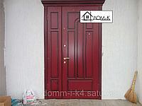 Дверь входная Лидер Двустворчатая