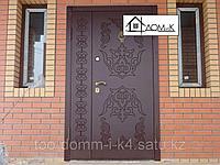 Двери входные с орнаментом