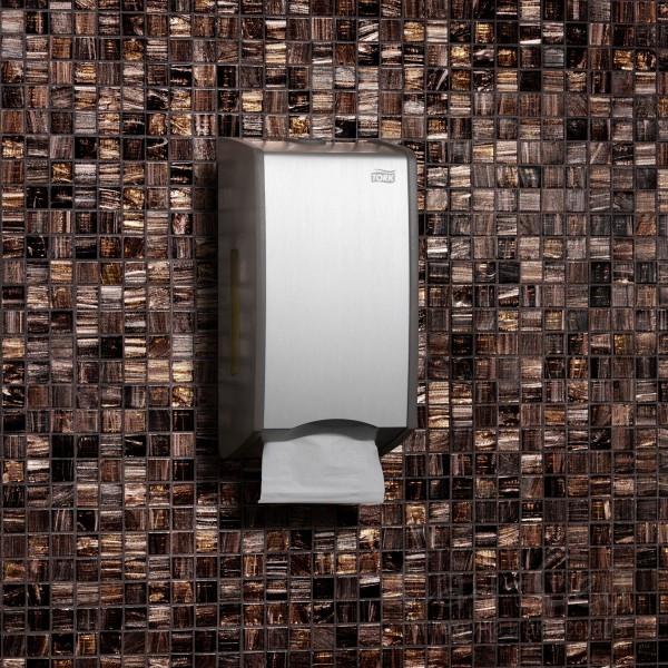Диспенсер для листовой туалетной бумаги Tork Aluminium456000