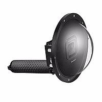 """Комплект SHOOT Dome Port 6"""" для GoPro Hero5/6/7 Black, Hero 2019 (подводный купол, аквабокс, ручка-поплавок)"""