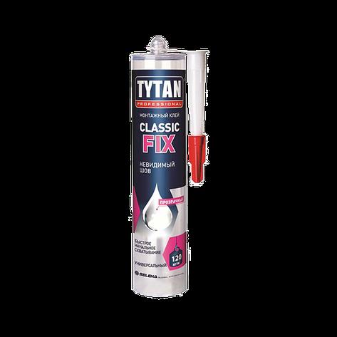 Титан монтажный клей прозрачный Classic Fix 200 кг/м2, фото 2