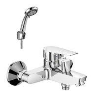 S35-31 Смеситель однор. для ванны (35 мм)с кор. излив. хром