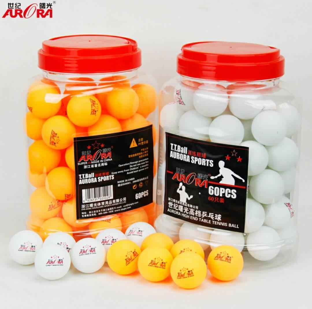 Шарики для настольного тенниса 60 ш