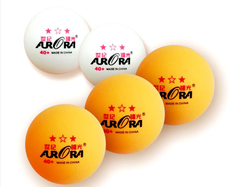 Шарики для настольного тенниса  AURORA 40+