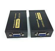 Усилитель VGA UTP Extender 1x1 сплиттер с 3,5 мм аудио RJ45/cat5e/6 кабель до 100 м, фото 3