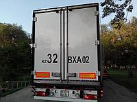 Дублирующие номера на грузовые автомобили в Алматы, фото 1