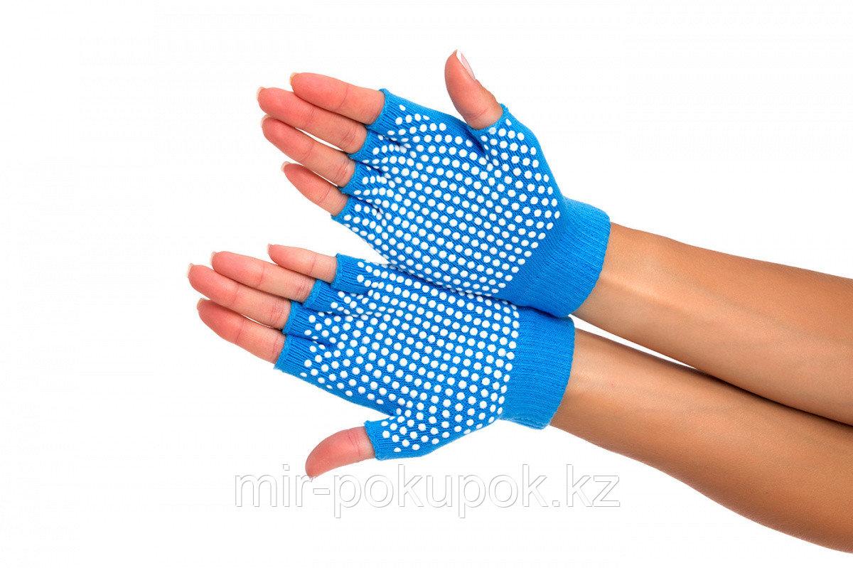 Перчатки противоскользящие для занятий йогой, Алматы