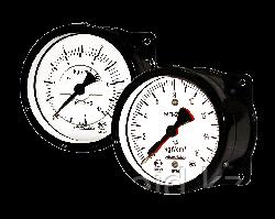 Манометры двустрелочные МП-2, МП-2 (диск)