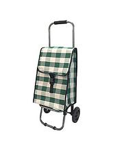 Тележка-сумка D203 Green 30кг 37х27х92см