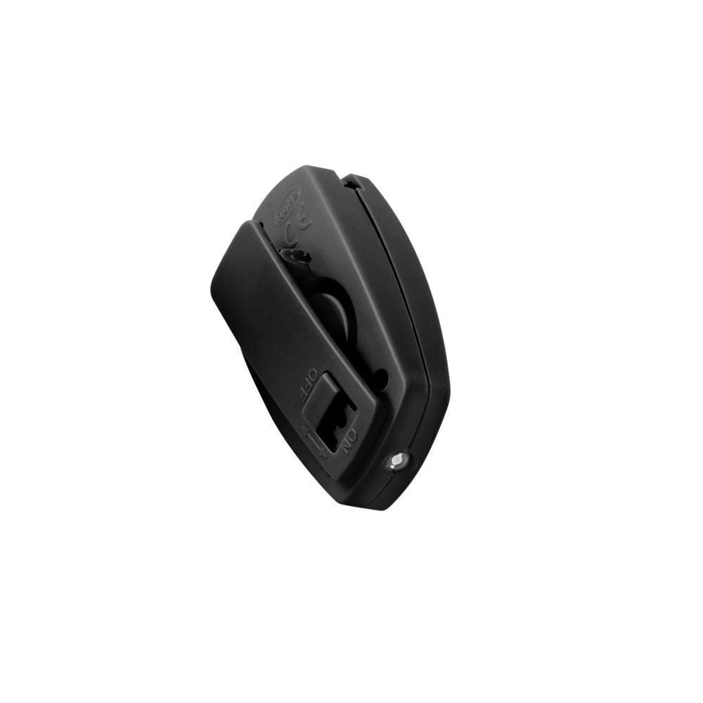 Сигнализатор тревоги персональный Mace Clip, Сигнализатор: Звуковой 130dB, Цвет: Чёрный, Упаковка: Блистер, (8