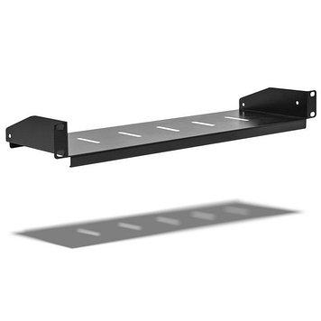 Полка одностороннего крепления для настенных шкафов SHIP 701401102, Цвет: Чёрный