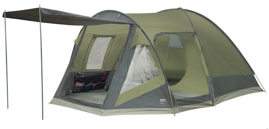 Палатка кемпинговая High Peak Santiago 5, Кол-во человек: 5, Входов/комнат: 2/1, Тамбуров: 1, Внутренняя палат
