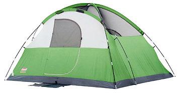 Палатка кемпинговая Coleman Evanston 6, Кол-во человек: 6, Входов/комнат: 1/1, Тамбуров: Нет, Внутренняя палат