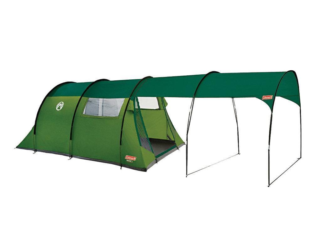 Палатка трекинговая (равнинная) Coleman Hawkins 4, Кол-во человек: 4, Входов/комнат: 1/1, Тамбуров: 1, Внутрен