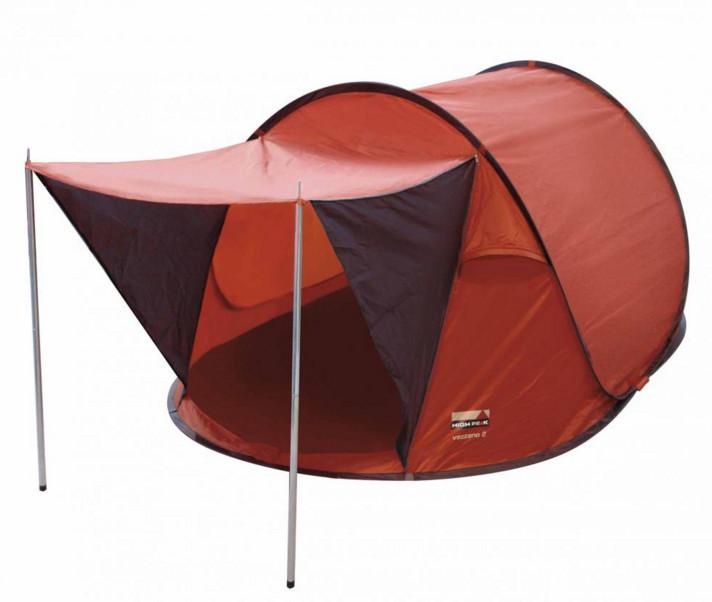 Палатка трекинговая (равнинная) High Peak Vezzano 2, Кол-во человек: 2, Входов/комнат: 1/1, Тамбуров: Нет, Вну