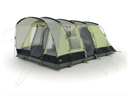 Палатка кемпинговая High Peak Salerno 5, Кол-во человек: 5, Входов/комнат: 3/1, Тамбуров: 1, Внутренняя палатк