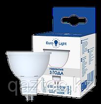 Светодиодная лампа MR16 GU5.3 6Вт, 6000к