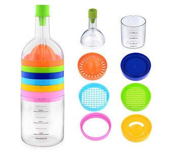 Набор кухонных аксессуаров «Волшебная бутылка» Bin 8 Tools [8 предметов]