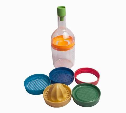 Набор кухонных аксессуаров «Волшебная бутылка» Bin 8 Tools [8 предметов], фото 2