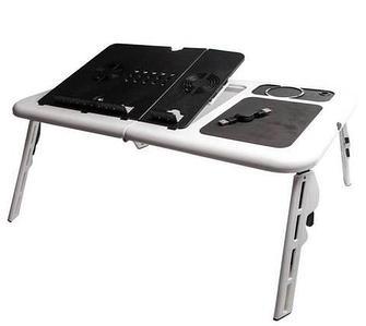 Столик для ноутбука складной с вентиляторами E-Table LD09