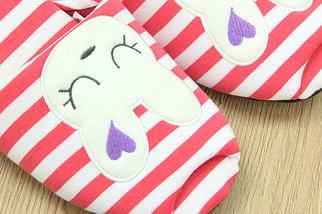 Тапочки домашние Pettimelo Cute Rabbit IN14SS-02-1 (Черный), фото 2