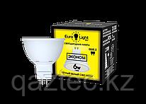 Светодиодная лампа Eco MR16 Gu5.3   6Вт 3000К