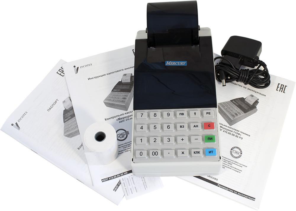 Меркурий 115 ФКЗ (Онлайн) с блоком фиксации и передачи данных на сервер оператора фискальных данных