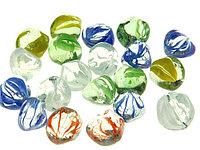Камень стеклянный для декора, упаковка 40 шт