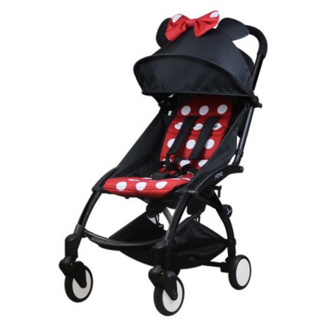Прогулочная коляска Babytime Mickey Red