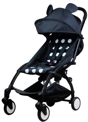 Прогулочная коляска Babytime Mickey Black