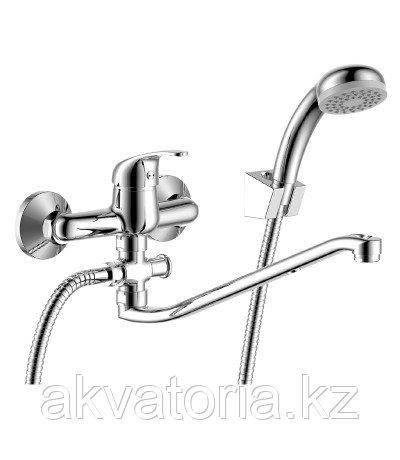 Y35-35 Cмеситель одноруч (35мм) для ванны с S-образ изливом