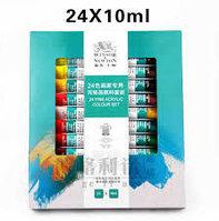 Акриловые краски для дизайна ногтей ( набор 24 шт), фото 1