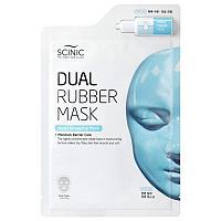 Двухэтапная увлажняющая маска для лица Scinic Dual Rubber Mask Moist Wrapping Mask