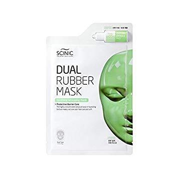 Успокаивающая маска для лица/Scinic Dual Rubber Mask Soothing-Pack