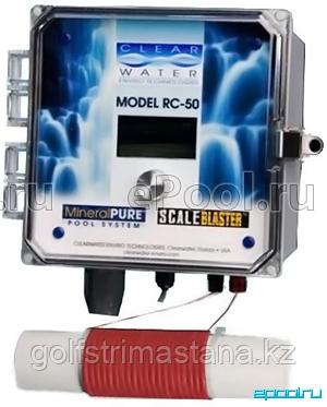 Ионизатор ClearWater RC-50 цифровой + ScaleBlaster умягчитель воды