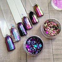 Хлопья Юкки для дизайна ногтей