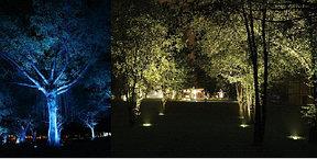 Ландшафтные светодиодные светильники