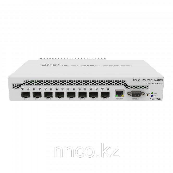 Kоммутатор MikroTik CRS309-1G-8S+IN