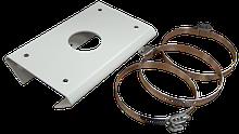 HIA-B302 - Монтажная площадка для крепления камер серий D6 на столб (вертикальную опору).