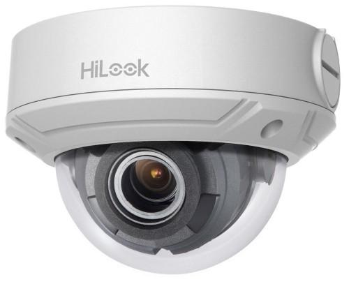 IPC-D650H-Z - 5MP Уличная купольная антивандальная варифокальная (моторизованный зумм) IP-камера с ИК-подсветкой, исполнение - металл.